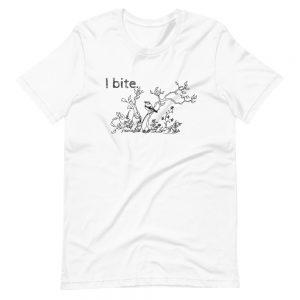 Short-Sleeve Unisex T-Shirt / I bite.