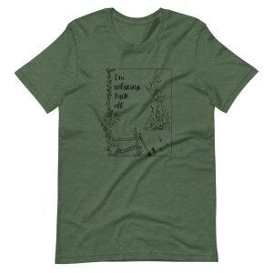 Short-Sleeve Unisex T-Shirt / I'm relaxing. Fuck off.