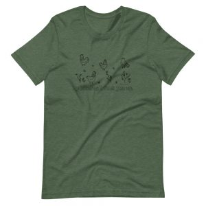 Short-Sleeve Unisex T-Shirt / My bitches'll fuck you up.